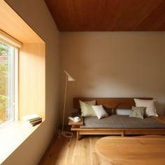 自然に空間を共有する家