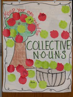 Apple *LOVE*  Collective nouns