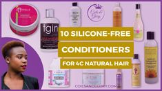 silicone free conditioner for natural hair