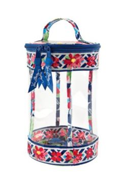 Vera Bradley clear lotion bag [in summer cottage] love this for traveling with lotions & shampoos!
