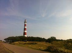 Vuurtoren Ameland (Bornrif) in Hollum, Fryslân