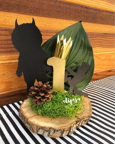 """Paper Flowers 🌹 Est. 2015 on Instagram: """"Where the Wild Things are centerpieces made for my Godson's 1st Birthday 👑👦🏻 #wherethewildthingsare #wherethewildthingsareparty…"""" Boys First Birthday Party Ideas, Wild One Birthday Party, Baby Boy First Birthday, Dinosaur Birthday Party, Boy Birthday Parties, 1st Birthday Centerpieces, Wild Things, Paper Flowers, Instagram"""