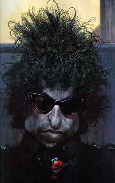 Bob-Dylan, The Exhibition of Caricature/Sebastian Kruger / Germany