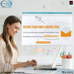Design your own landing page on our survey set up program and benefit from its positive impact on your messages ! Email: sales@broadnet.me UAE branch : +971 4 456 7768 #SMS #SMSmarketing #UAE #survey #Digitalmarketing #الامارات_العربية_المتحدة #تسويق