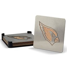 NFL Arizona Cardinals Boasters Heavy Duty Stainless Steel Coasters Set of 4 ** Want to know more, click on the image.Note:It is affiliate link to Amazon.
