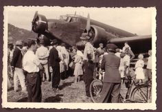 Luftwaffe airport in Slovakia during WW2