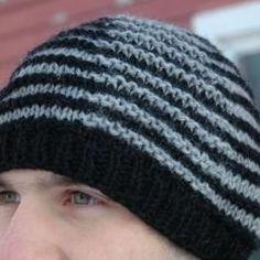 Free Knitting Pattern - Hats: Shadow Hat