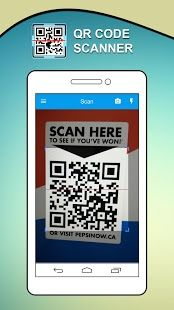 QR Code Scanner and Barcode scanner can scan and read all QR / barcode types including text, url, ISBN, product, contact, calendar, email, location, Wi-Fi and many other formats. https://play.google.com/store/apps/details?id=com.barcodescanner.qrcodereader