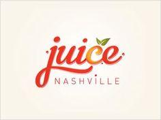 Nashville Juice logo design 25 Cool & Creative Fast Food & Drink Logos For Inspiration