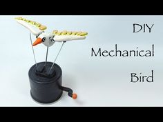 How to make a mechanical bird with polymer clay - YouTube