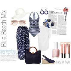 Blue Beach Mix | Lady of Style