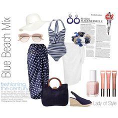 Blue Beach Mix | Lady of Style