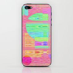 Re-Created  Building Blocks II iPhone & iPod Skin by Robert S. Lee - $15.00