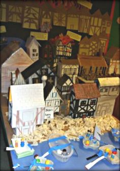 Great Fire of London Classroom Displays - Primary Facts History Projects, School Projects, Projects To Try, School Ideas, History Classroom, Teaching History, The Fire Of London, Book Area, After School Care