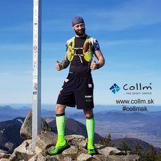 KOMPRESNÉ PODKOLIENKY COLLM RUN PRO ZELENÉ Runes, Crossfit, Running, Workout, Keep Running, Work Out, Why I Run, Exercises