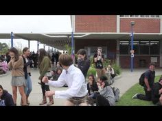 Best prom asking ever--amazing video but repinning for the guy at the end i mean like AHHAHAHAHAHAHAH OMG