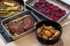 Skal du ha gjester som vet å sette pris på ekstra god mat, er andebryst tingen å servere. Sitrus og rødbeter utgjør en spennende smakskombinasjon som passer godt til andebryst.