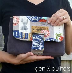 This post is part of Purse Palooza 2013.   For full schedule of guest post pattern reviews and prizes, click here! AnneMarie of Gen X Quilters always has some great things going on at her blog; did you see the Sisters Ten Block of the Month? Check it out! Hi there, I am AnneMarie of Gen X Quilters …