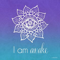 I am awake tattoo idea