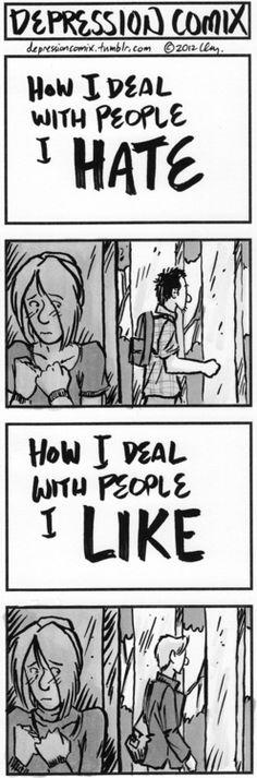 depression comix -- a web comic about depression