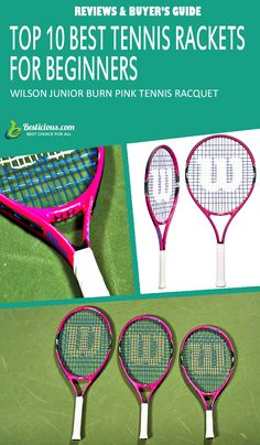 Best Tennis Rackets for Beginners Ultimate List (March) Best Tennis Racquet, Head Tennis, Muscle Power, Wide Body, Buyers Guide, Rackets, How To Stay Healthy, Pink, Sporty
