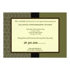 20 Best Open House Business Invitations Images Business Invitation