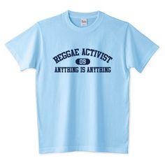 REGGAE ACTIVIST_ANYTHINGS | カラーバリエーション:34色 #Tshirt #jamaica #reggae #dancehall #T-shirt