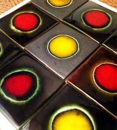 Salsa 'Planets' Art glaze ceramics