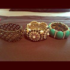 Bracelet BUNDLE 3 for 1 price  You get all three! Jewelry Bracelets