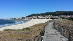 Boardwalks abound on the Senda Literal, that section of the Portuguese Way that hugs the coastline from Porto to Redondela.