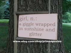 Hey, I found this really awesome Etsy listing at http://www.etsy.com/listing/155673126/girl-definition-wood-sign-baby-nursery
