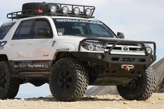Awesome modifications made to a 2008 Toyota 4Runner.