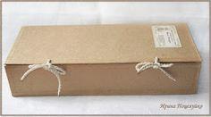 Уютный мир Ирины Поцелуйко: Коробка для куклы в эко стиле
