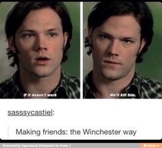 The Winchester way