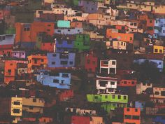 Panama, the hillsides of colorful homes. Loved it. So pretty.