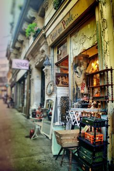 L'Object qui Parle, antiques in Montmartre, Paris (via ~Sweet Inspiration~)