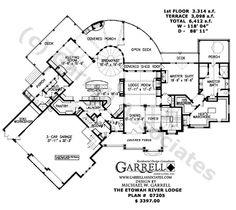 Etowah River Lodge | House Plans by Garrell Associates, Inc