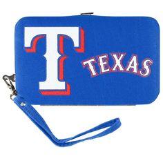 Texas Rangers MLB Shell Wristlet