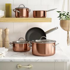 SponsoredPost Have you ever considered your cookware to be an ingredient in the recipes you create? If not, prepare to be amazed, because that's the method Brooklyn Copper Cookware takes when designing the pots and pans that contact your meals. The company started back in 2009 with the objective of making superior copper cookware, primarily based on the instance of renowned coppersmith operation Bruno Waldow Co. With performance designed to be used in excessive-finish business kitchens… Pots And Pans Sets, Stainless Steel Dishwasher, Stainless Steel Pot, Copper Pots, Pan Set, Herd, Cookware Set, Glass Ceramic, Copper Color