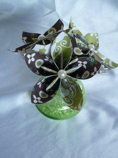Oragami flowers