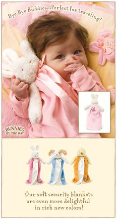Our precious baby blankets are loved by little ones for their softness and charm.    Each blanket comes beautifully gift wrapped.