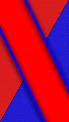 Blue and Red Abstract Wallpaper
