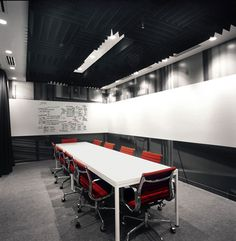 Beautiful Facebook Offices - Now that's what we call a whiteboard!