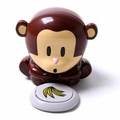 HDE (TM) Mini Cute Monkey Blower Nail Polish Dryer Beauty Care