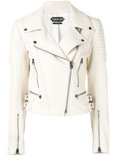 TOM FORD Leather Biker Jacket. #tomford #cloth #jacket
