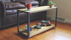 Modern DIY Coffee Table from Trash