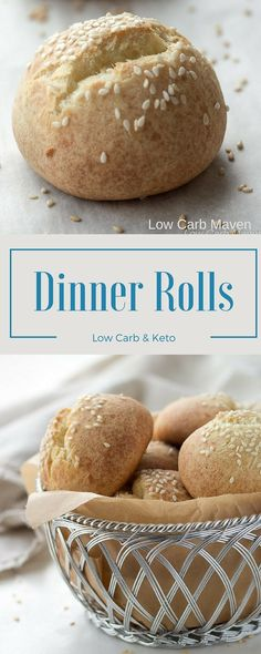 Easy low carb rolls made with the fathead dough are great for keto diets!