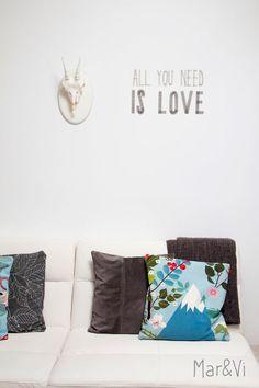 Mar&Vi Creative Studio - España: decoración low cost: Cabezas de animales decorativas