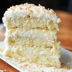 Coconut Custard, Custard Cake, Food Cakes, Cupcake Cakes, Cupcakes, Old Fashioned Coconut Cake Recipe, Coconut Recipes, Best Coconut Cake Recipe Ever, Coconut Desserts