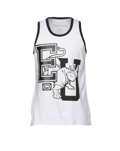 Clothing, Shoes & Accessories Activewear Ecko Unlimited Trailer Mens Vest White Grey Crew Sleeveless Gym Sports Top S M Online Discount